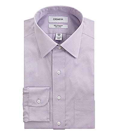 Cremieux No-Iron Spread-Collar Dress Shirt