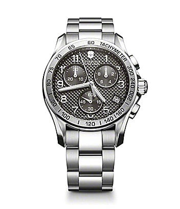 Victorinox Swiss Army Classic Grey Chronograph Watch