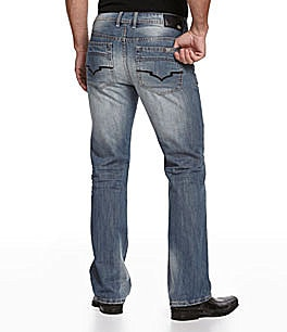 Buffalo David Bitton King Slim Bootleg Jeans