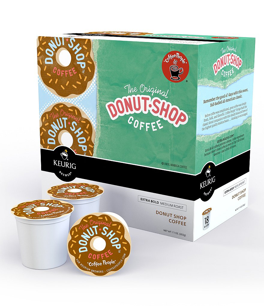 Keurig Coffee People The Original Donut Shop Coffee K-Cup Pack