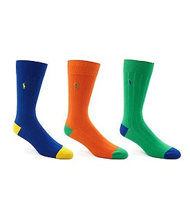 Polo Ralph Lauren Soft Touch Dress Socks 3-Pack Image