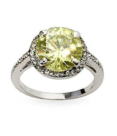 Tivoli CZ Engagement Ring