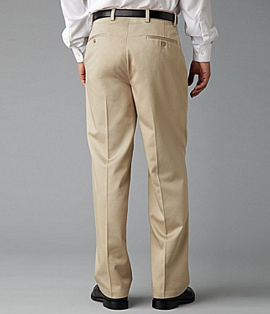Dockers Never-Iron� Essential Classic-Fit Flat-Front Pants