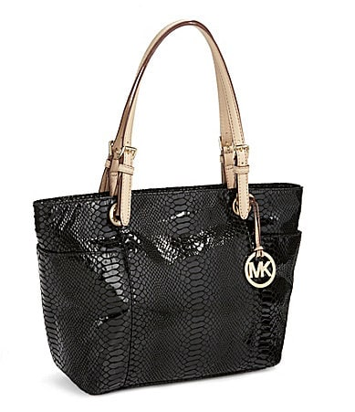 MICHAEL Michael Kors Patent Leather Top-Zip Tote