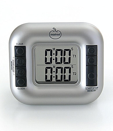 Orka Grey Dual Digital Timer