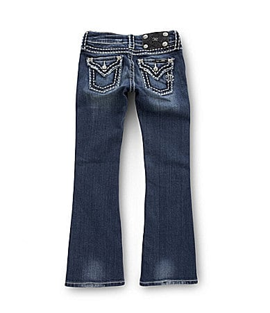 Miss Me 7-16 Distressed Bootcut Jeans