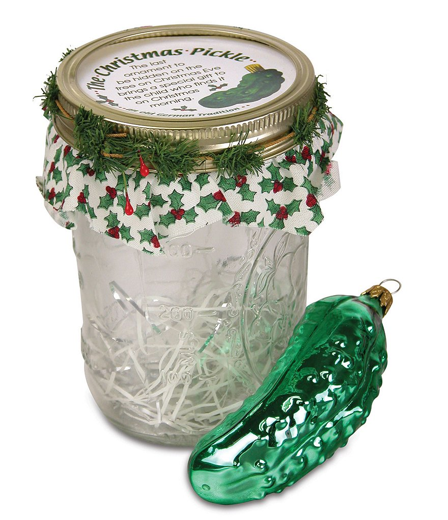 Byers' Choice Pickle Ornament