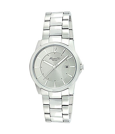 Kenneth Cole New York Men�s Round Metal Watch