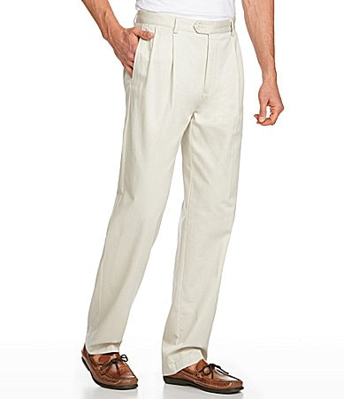 Cremieux Casual Chino Pleated Pants