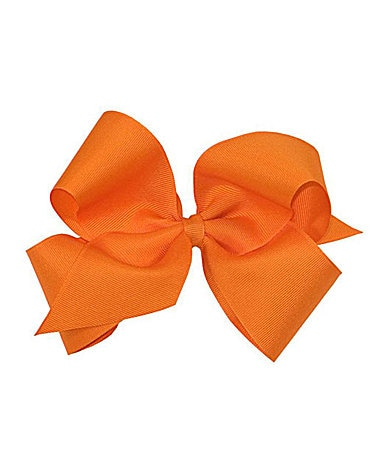 Copper Key King-Size Orange Grosgrain Bow