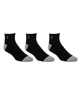 Polo Ralph Lauren Quarter-Top Socks 6-Pack Image