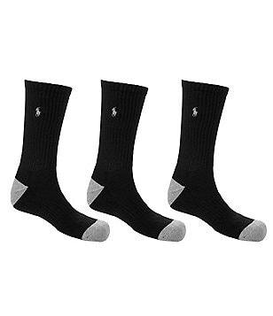 Polo Ralph Lauren Crew Socks 6-Pack