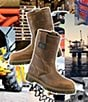 Color:Gaucho - Image 2 - Dr. Martens Industrial Steel-Toe Boots