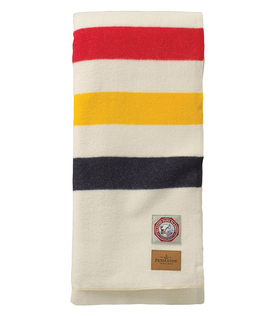 Pendleton Glacier National Park Wool Throw