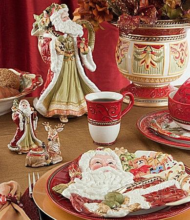 Fitz and floyd damask holiday dinnerware dillards com
