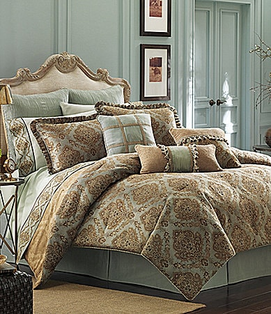 Croscill Laviano King Comforter Set NEW Bedding Plus 2 ...