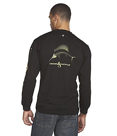 Hook & Tackle Sailfish X-Ray Solar System Protection Tee