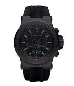 Michael Kors Black Chronograph Sport Watch