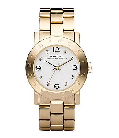 Marc by Marc Jacobs Amy Plated Bracelet Watch