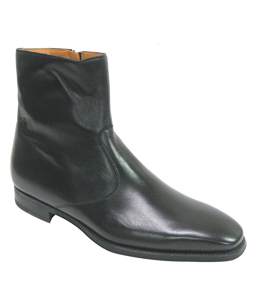 Magnanni Donosti Leather Side-Zip Boots