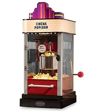 Nostalgia Electrics Hollywood Kettle Popcorn Machine