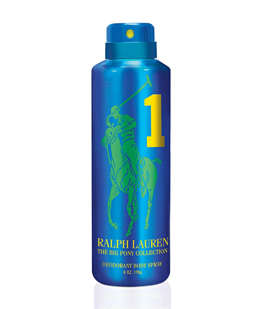 Ralph Lauren Fragrances Big Pony Blue #1 Body Spray