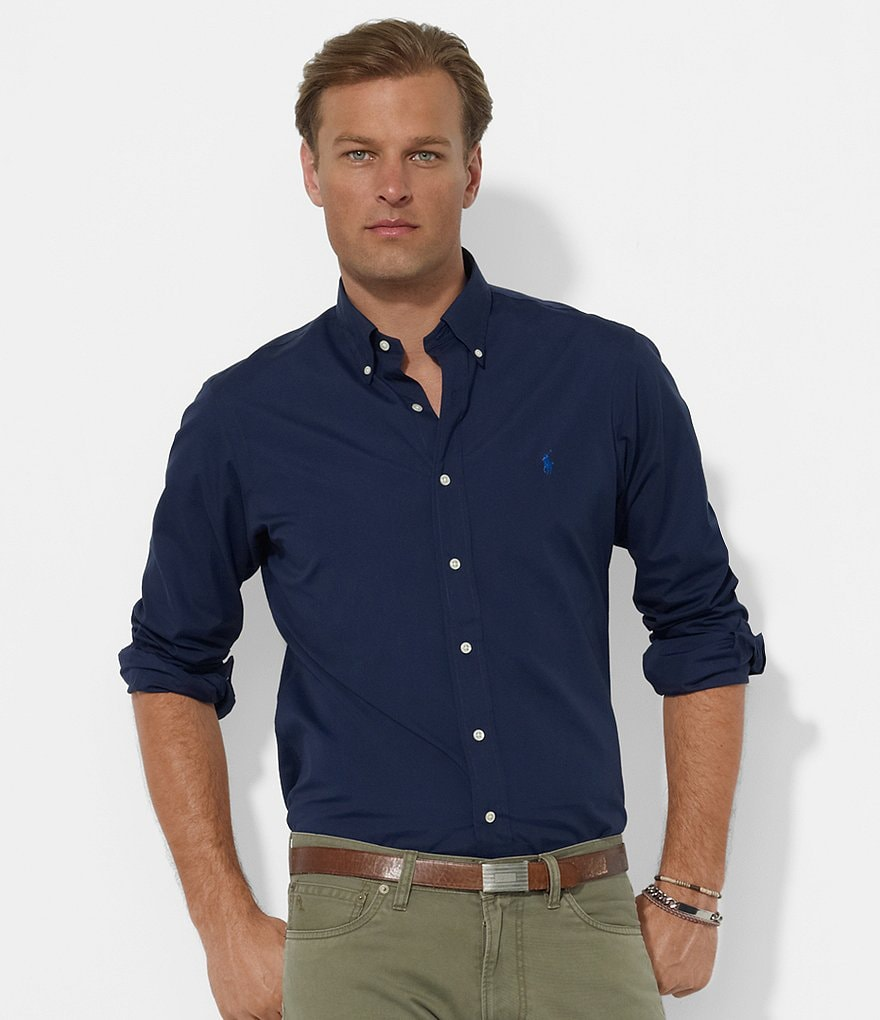 Polo Ralph Lauren Custom-Fit Broadcloth Sportshirt