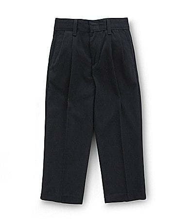Class Club 2T-7 Navy Pleated Dress Pants