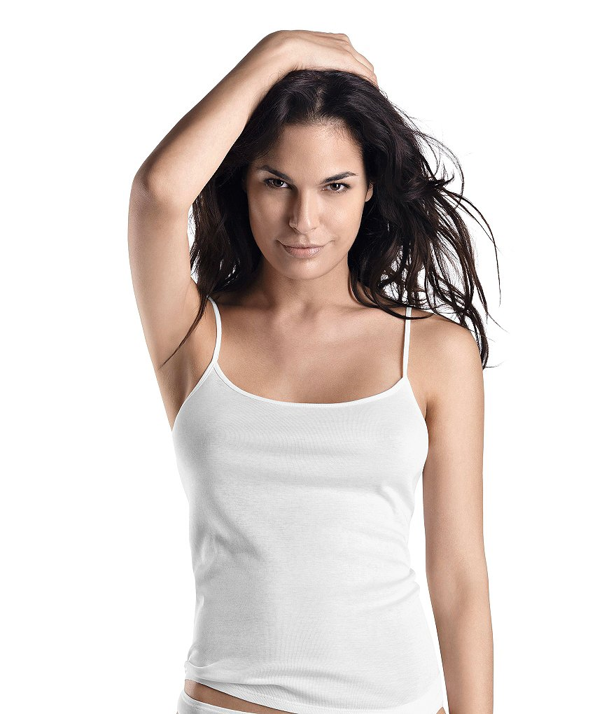 Hanro Everyday Cotton Spaghetti Camisole
