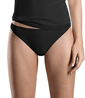 Hanro Everyday Cotton Hi-Cut Brief Panty Image