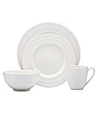 kate spade new york Fair Harbor White Truffle Dinnerware