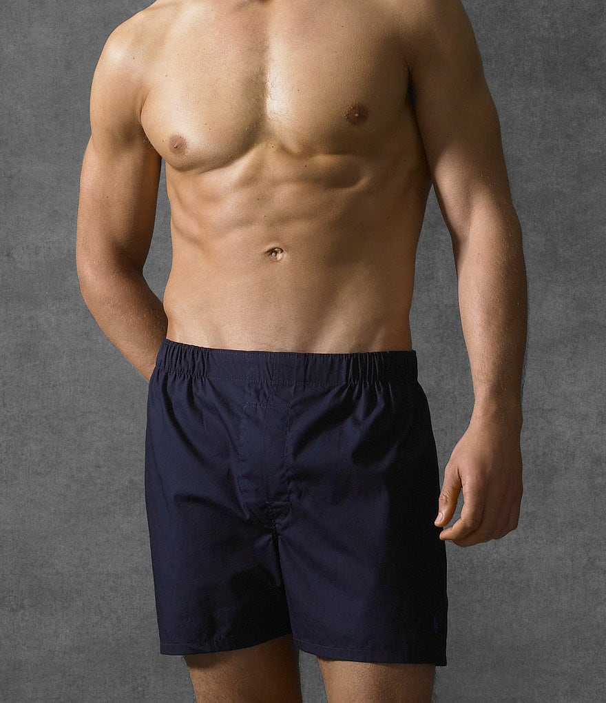 Polo Ralph Lauren Woven Boxers 3-Pack