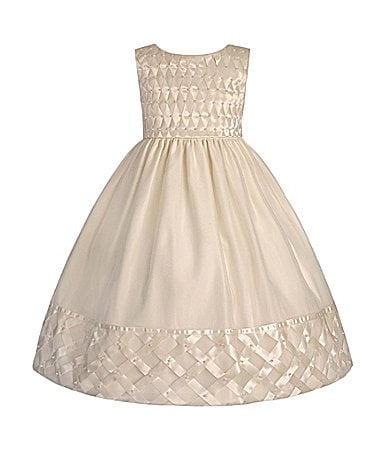 American Princess Toddler Lattice Dress