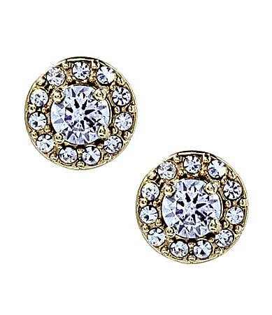 Betsey Johnson Iconic Crystal Stud Earrings
