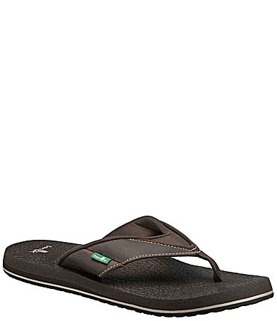 Sanuk Men�s Beer Cozy Primo Thong Sandals