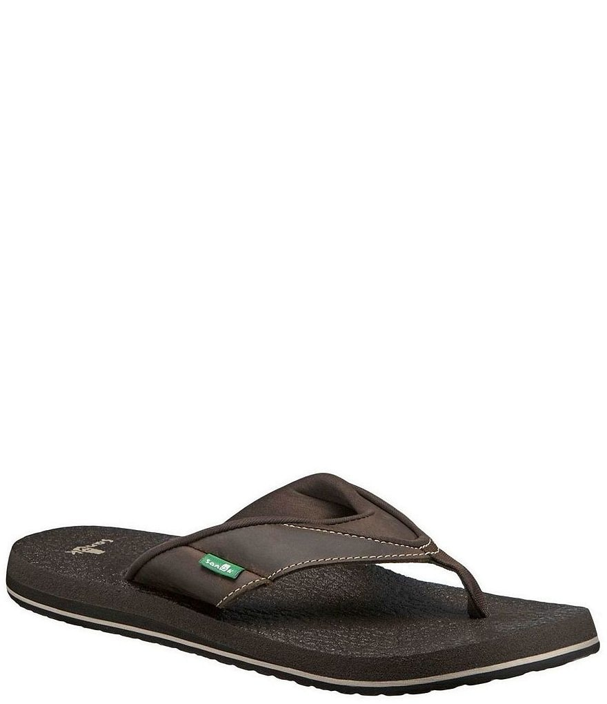Sanuk Men's Beer Cozy Primo Thong Sandals