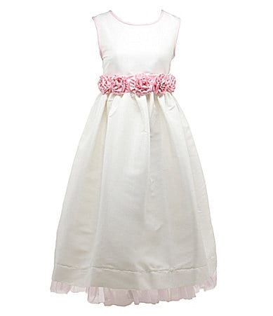 Jayne Copeland 2T-6X Shantung Dress