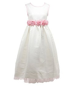 Jayne Copeland 2T-6X Shantung Dress