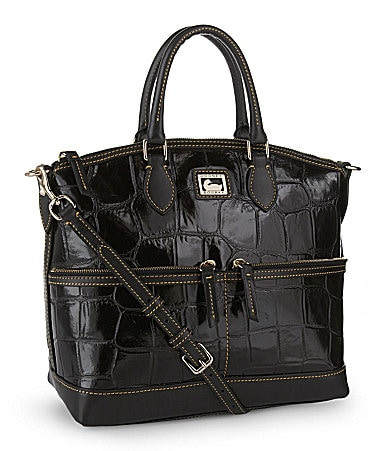 Dooney & Bourke Croco-Embossed Satchel