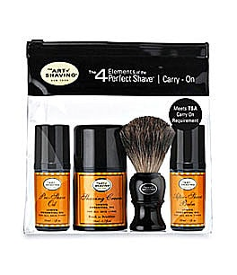 The Art of Shaving Lemon Carry-On Kit