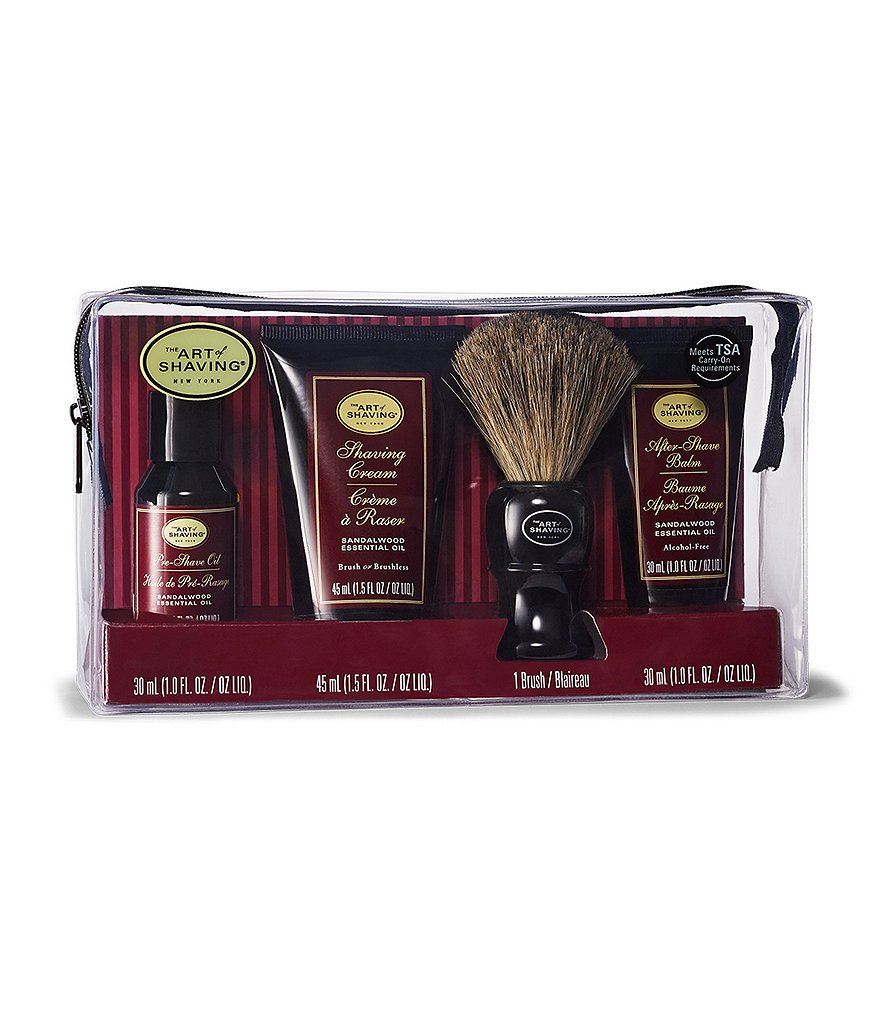 The Art of Shaving Sandalwood Carry-On Kit