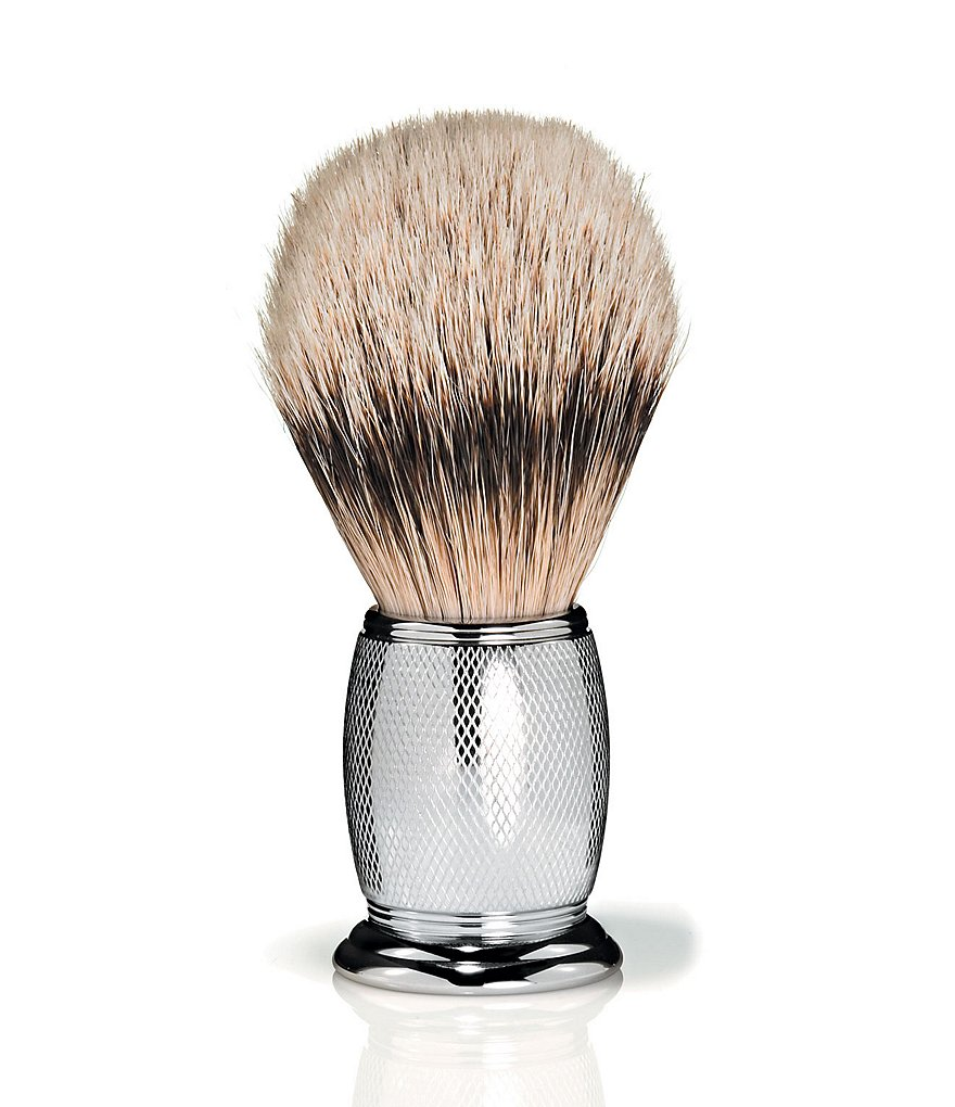 The Art of Shaving Fusion Chrome Collection Pure Badger Shaving Brush