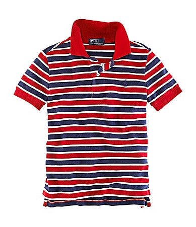 Ralph Lauren Childrenswear 2T-7 Striped Polo Shirt