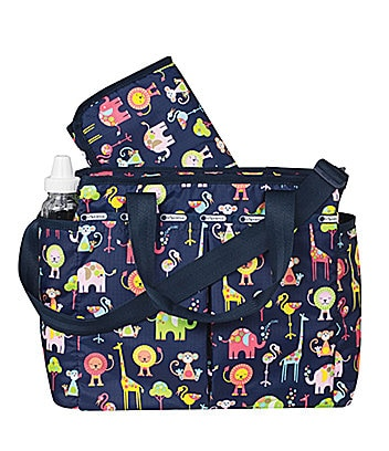 LeSportsac Zoo Cute Ryan Baby Bag