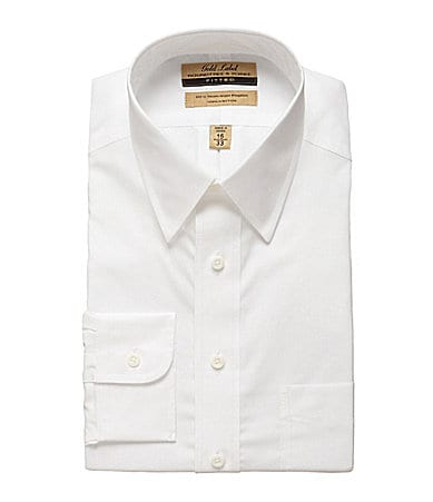 Roundtree & Yorke Gold Label EZ Cool Poplin Dress Shirt