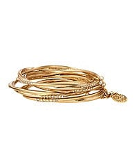 Jessica Simpson 4-Piece Bangle Bracelet Set