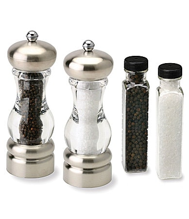 Olde Thompson Del Norte Salt & Pepper Mill Set