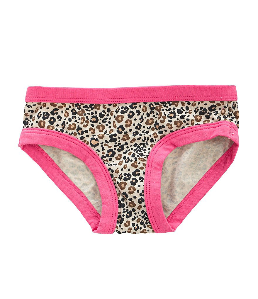Copper Key 3-14 Leopard-Print Hipster Panty