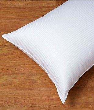 Nobility 350-Thread-Count Dobby Extra-Firm Bed Pillow
