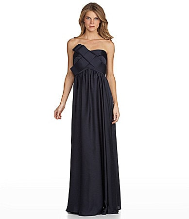JS Collections Strapless Gown